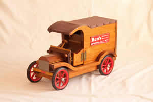 Model T Ford Car in wood